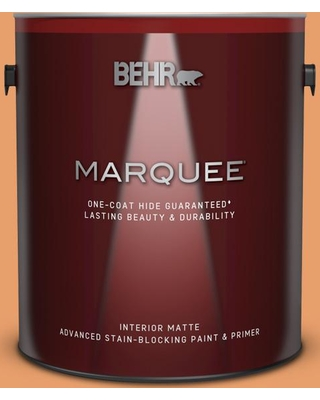 BEHR MARQUEE 1 gal. #260D-4 Copper River Matte Interior Paint and Primer in One