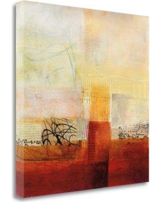 "Tangletown Fine Art 'Warmth II' by Jane Davies Painting Print on Wrapped Canvas WA614395-1818c Size: 20"" H x 20"" W"
