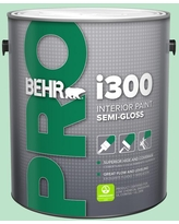 Sales On Behr Pro 1 Gal P410 4 Willow Hedge Semi Gloss Interior Paint