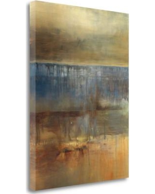 """Tangletown Fine Art 'Ambergris' Print on Wrapped Canvas CARHP105-1824c Size: 24"""" H x 18"""" W"""