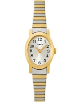 Women's Timex Cavatina Expansion Band Watch - Two Tone T2M570JT, Gold/Silver