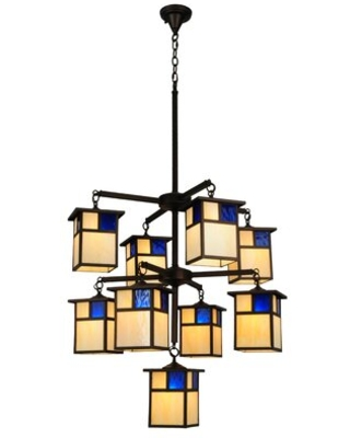 Amazing Deal On Sway 9 Light Shaded Tiered Chandelier Bloomsbury Market