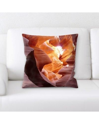 East Urban Home Canyon Throw Pillow W000195836