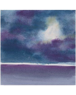 """Winston Porter 'The Clouds I' Acrylic Painting Print on Wrapped Canvas WNST6506 Size: 24"""" H x 24"""" W x 2"""" D"""