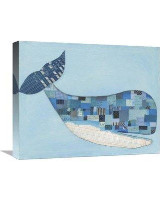 "East Urban Home 'Wind and Waves II' Graphic Art Print on Canvas ESUM6659 Size: 16"" H x 20"" W"