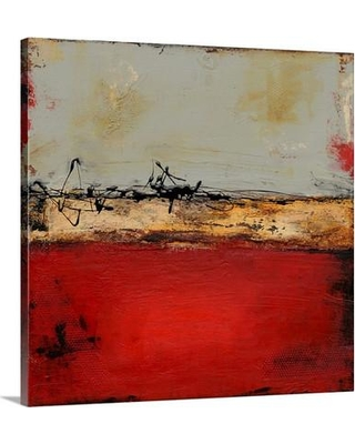 """Canvas On Demand 'Midtown Rush' by Erin Ashley Painting Print on Canvas 1154511_24 Size: 30"""" H x 30"""" W x 1.25"""" D"""