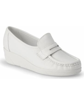 Nurse Mates Pennie - Womens 8.5 White Slip On W