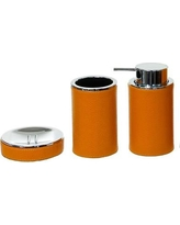 Gedy by Nameeks Alianto Color 3-Piece Bathroom Accessory Set Gedy AC200 Color: Orange