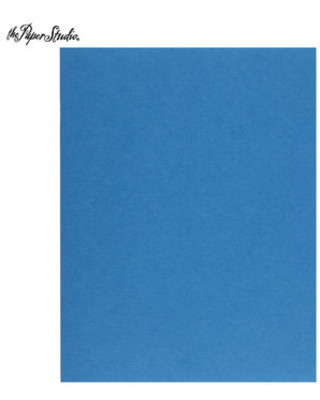 """Bright Blue Textured Cardstock Paper - 8 1/2"""" x 11"""""""