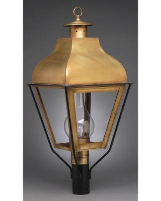 Northeast Lantern Stanfield 32 Inch Tall 3 Light Outdoor Post Lamp - 7653-AB-LT3-SMG