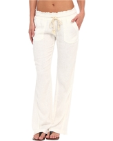 Roxy Ocean Side Pant (Sea Salt) Women's Casual Pants