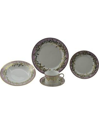 Darby Home Co Chong 40 Piece Dinnerware Set Service for 8 W000388549