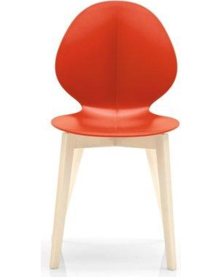 Calligaris Basil W Dining Chair CS/1348_P Color: Bleached Beech