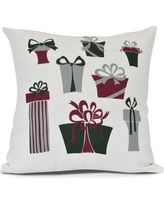 The Holiday Aisle Present Time Euro Pillow HLDY7469 Color: White