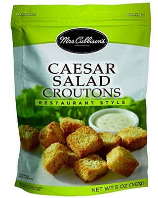 Mrs. Cubbison's Croutons, Caesar Salad, 5 Ounce (Pack of 9)