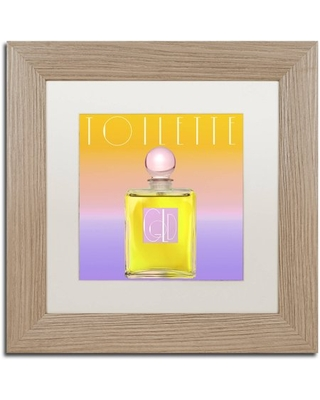 """Trademark Fine Art """"Colored Scents II"""" Canvas Art by Color Bakery White Matte, Birch Frame"""