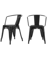 Discover Deals On Stylewell Bronze Metal Dining Chair Set Of 2 20 28 In W X 28 35 95 In H