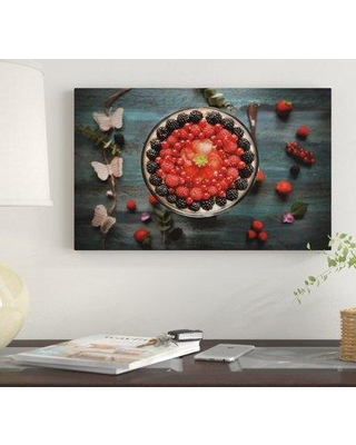"""Winston Porter 'Fruit Crown' Photographic Print on Wrapped Canvas WNST7367 Size: 30"""" H x 47"""" W"""