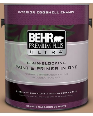 BEHR ULTRA 1 gal. #T13-7 Tan-gent Eggshell Enamel Interior Paint and Primer in One