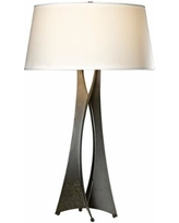 Hubbardton Forge Moreau Steel Contemporary Table Lamp