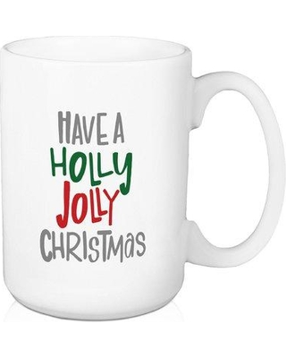 Jaxn Have a Holly Jolly Christmas Coffee Mug 5198-E