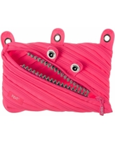 Zipit Grillz 3 Ring Pouch - Dazzling Pink