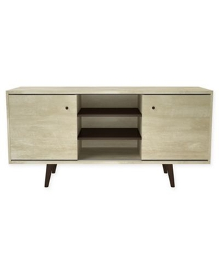 Midtown Concept Mid-Century 53-Inch TV Stand in Sand