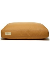 """B&GMartin Faux Leather Foam and Faux Down Cushion Dog Bed FXLC-310- CR-FA Size: Small (18"""" L x 24"""" W)"""