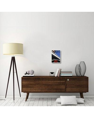 """East Urban Home 'NYK Line Around the World' Graphic Art Print on Canvas ESUH2059 Size: 16"""" H x 11"""" W x 1.5"""" D"""