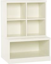 Cameron 1 Cubby & 1 Open Base Set, Simply White, UPS