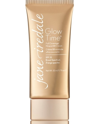 Jane Iredale Glow Time Full Coverage Mineral Bb Cream Broad Spectrum Spf 25, Size 1.7 oz - Bb12