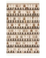 Safavieh Ivory/Multi Kenya Hand Knotted Southwestern Tribal Wool Area Rug Collection