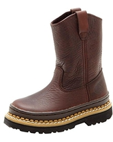 Georgia Boot Wellington Youth Brown, 9.5Y