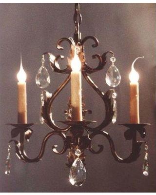 Shop Astoria Grand Norberto 3 Light Candle Style Classic Traditional Chandelier Metal In Bronze Size 19 H X 20 W Wayfair