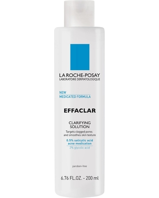 La Roche Posay Effaclar Face Toner Clarifying Solution with Medicated Formula - 6.76oz