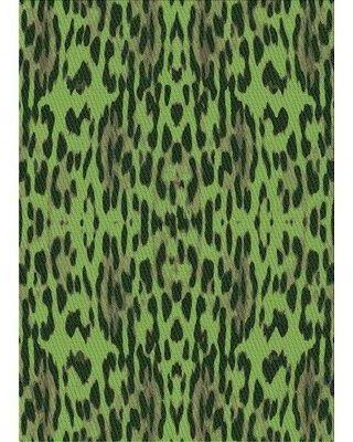 East Urban Home Wool Green/Gray Area Rug W002538389 Rug Size: Rectangle 5' x 7'