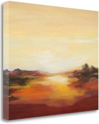 Tangletown Fine Art 'Opening' Print on Wrapped Canvas ICD822D-2218c