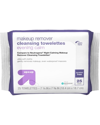 Basic Facial Cleansing Wipes - 50ct - Up&Up (Compare to Neutrogena Makeup Remover) Alba Botanica - Natural ACNEdote Clean n Treat Towelettes - 30 Towelette(s) (pack of 3)