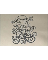 The Holiday Aisle Santa Baby Decorative Holiday Print Gray Indoor/Outdoor Area Rug HLDY5832 Rug Size: Rectangle 2' x 3'