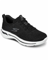 Skechers Women's GOWalk - Arch Fit Unify Arch Support Walking Sneakers from Finish Line - Black