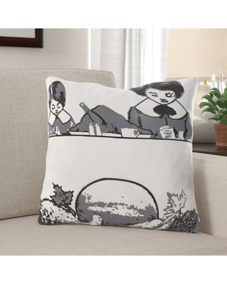 Check Out Deals On The Holiday Aisle Neihoff Thanksgiving Dinner Indoor Outdoor Throw Pillow X111180771