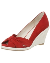 Kenneth Cole REACTION Women's Hot Knot Espadrille,Red,7.5 M