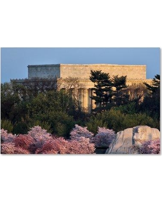 Trademark Art Washington Spring Morning By Cateyes Photographic Print On Wred Canvas Mz0382
