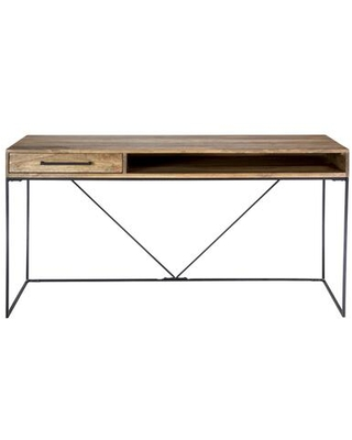 Colvin Collection SR-1030-24 Desk with Iron Base in Natural
