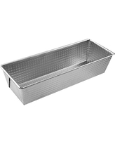 Zenker Tin Plated Steel Loaf Pan, 10-Inch x 4.4-Inch x 2.8-Inch