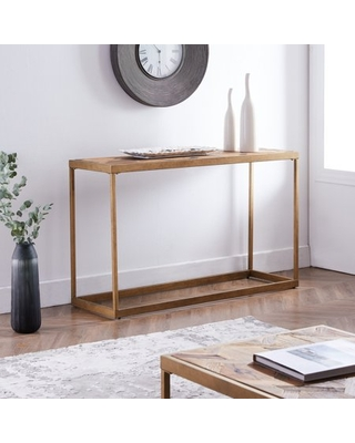 Darveston Reclaimed Wood Patchwork Console Table
