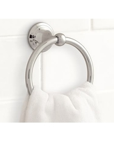 Mercer Towel Ring, Chrome finish