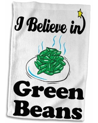 Find Savings On Harvin I Believe In Beans Hand Towel Symple Stuff