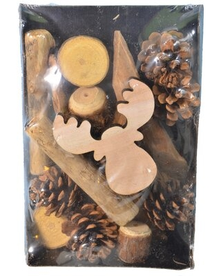 12 Piece Boxed Moose Decorative Accent Set The Holiday Aisle®