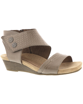 Rockport Cobb Hill Collection Hollywood 2 Piece Cuff Women's Tan Sandal 8 N